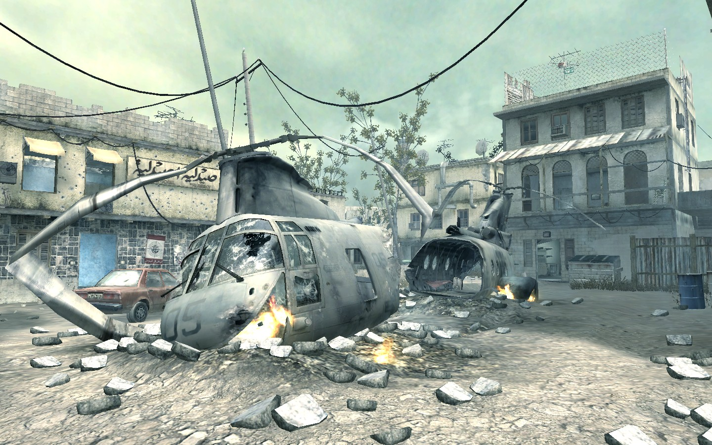 Crash Call of Duty Modern Warfare 4