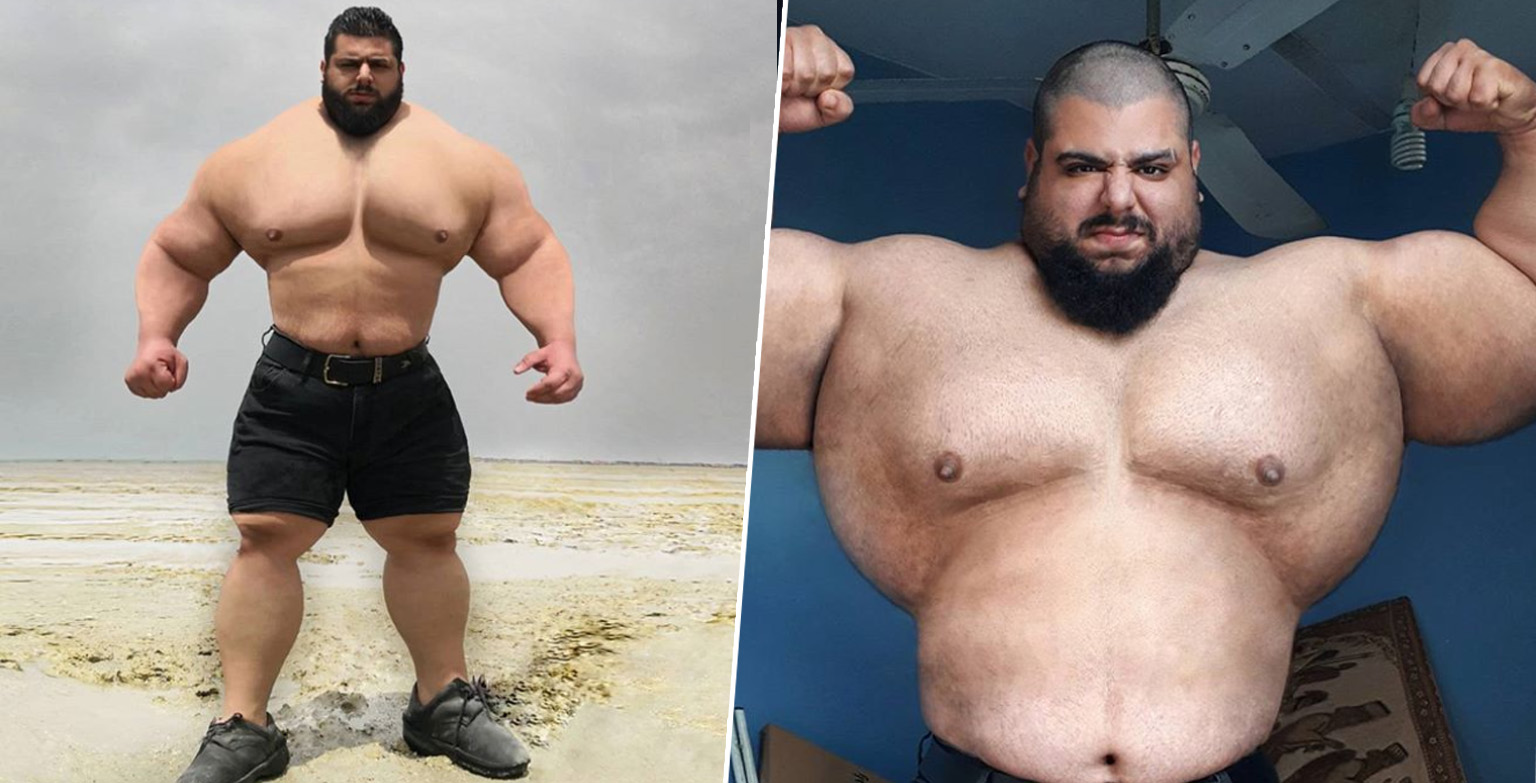 Iranian Hulk Signs Up To Bare-Knuckle Boxing Championship And Is Looking For An Opponent