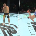 MMA Fighter Knocks Out Opponent With High-Flying Kick That Makes Him Look Like A Ninja