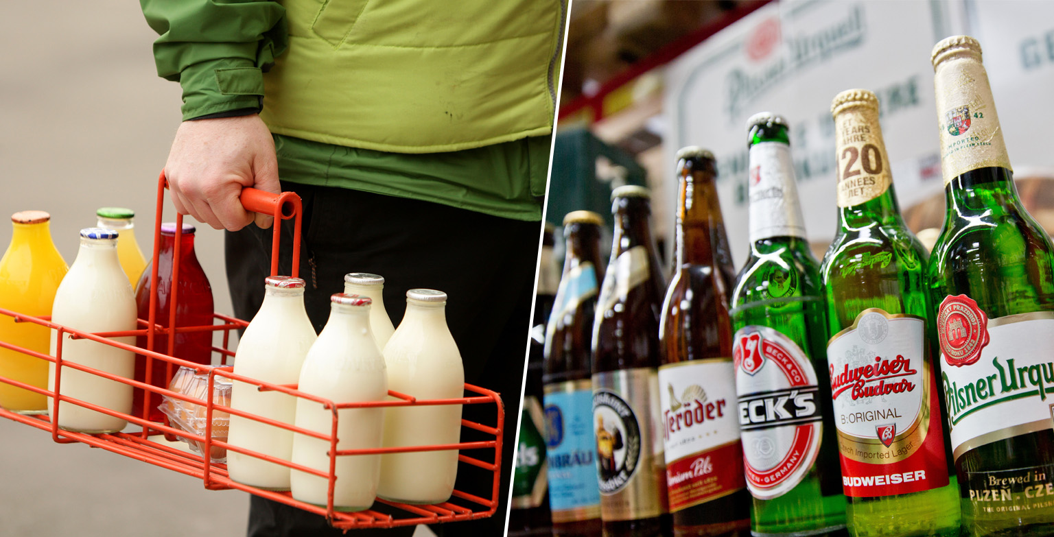 You Can Now Get Beer Delivered To Your Front Door By Your Milkman