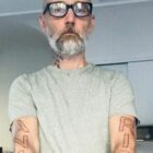 Moby Gets Huge Animal Rights Tattoo To Celebrate 32-Year Vegan Anniversary