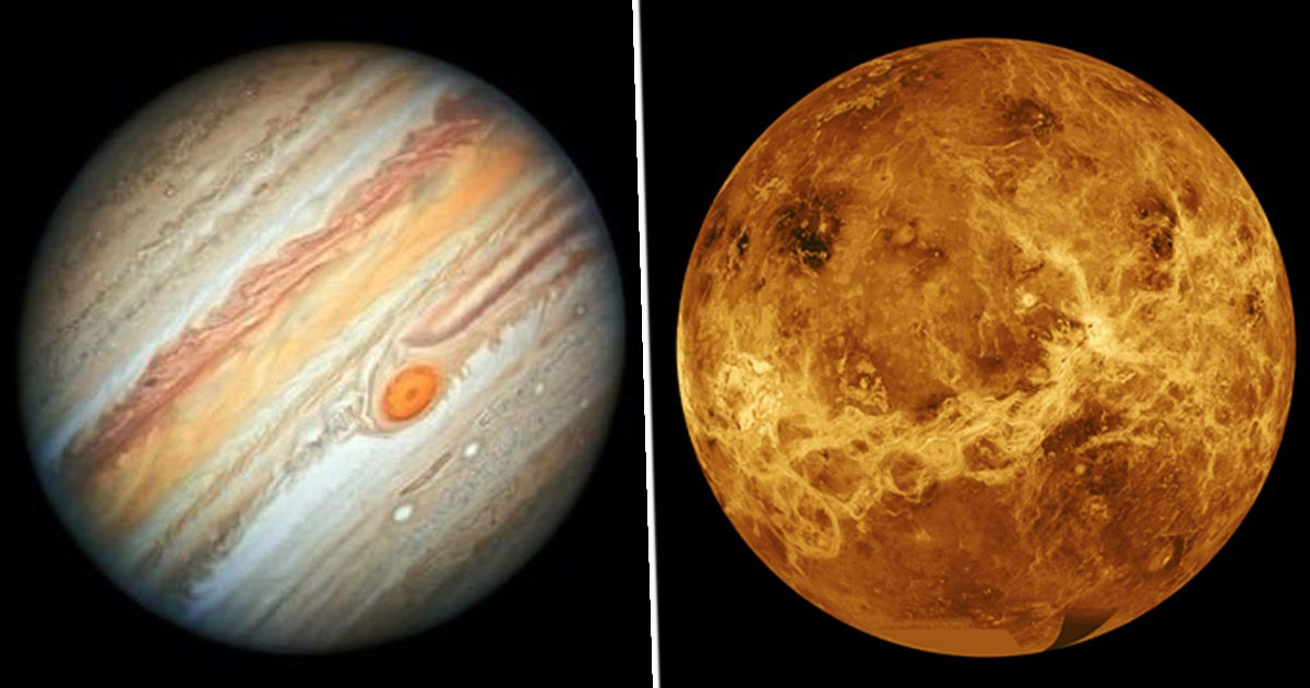 Venus And Jupiter Will Appear Next To Each Other In The Sky Tonight