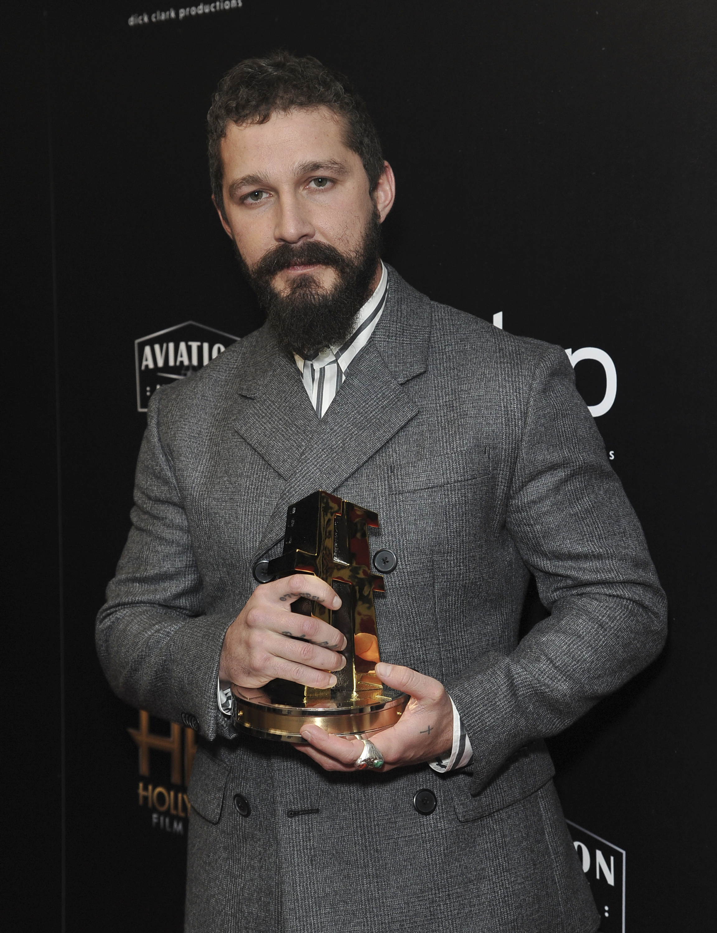 Shia LaBeouf wins screenwriting award