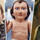 People Can't Decide Whether Baby Jesus Statue Looks More Like Phil Collins Or Nicolas Cage