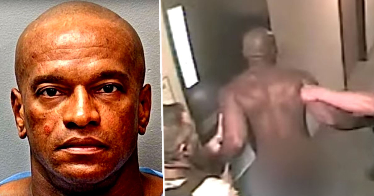Police Drag Kidnapper Naked Out Of Hotel And Find Child In Laundry Basket