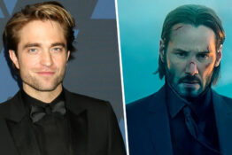 Robert Pattinson John Wick