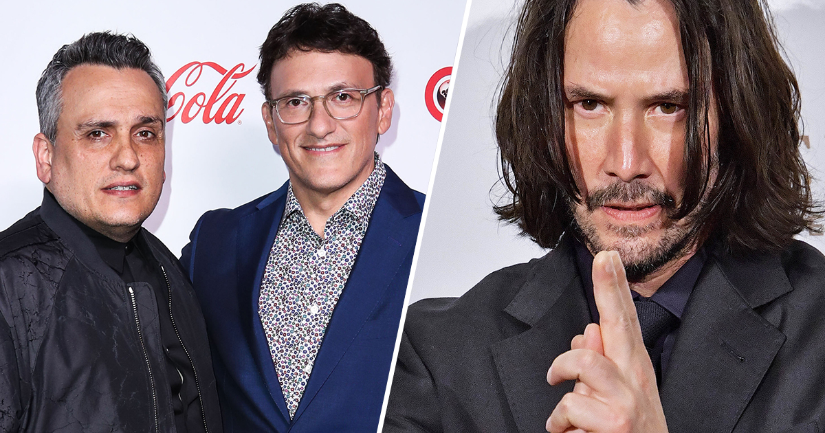 Russo Brothers Developing Superhero Movie With Keanu Reeves