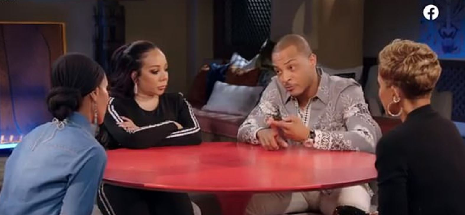 TI talks about taking daughter to gynaecologist