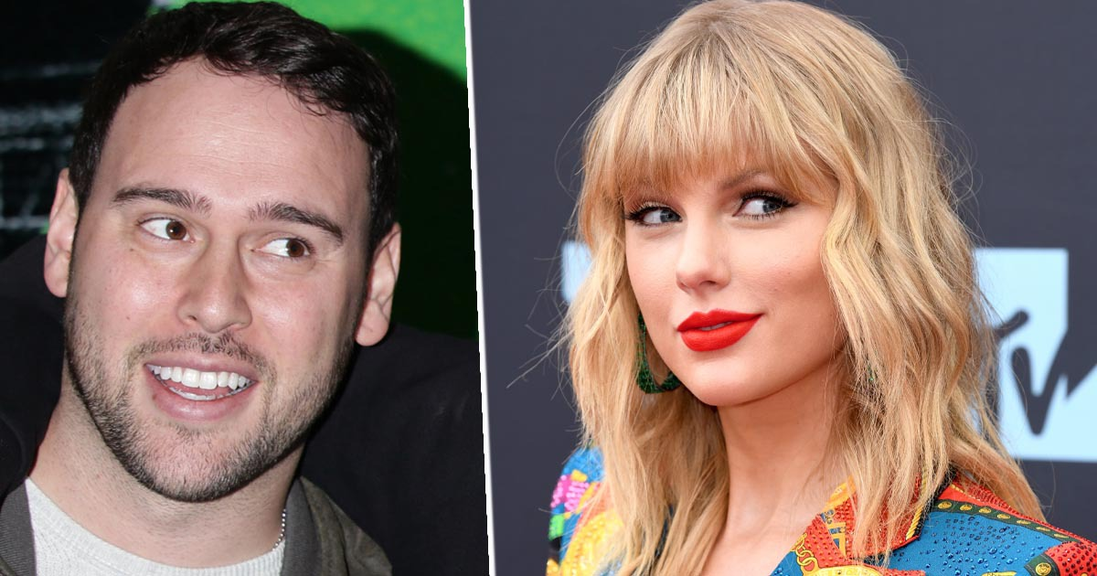 Taylor Swift calls out scooter braun 1