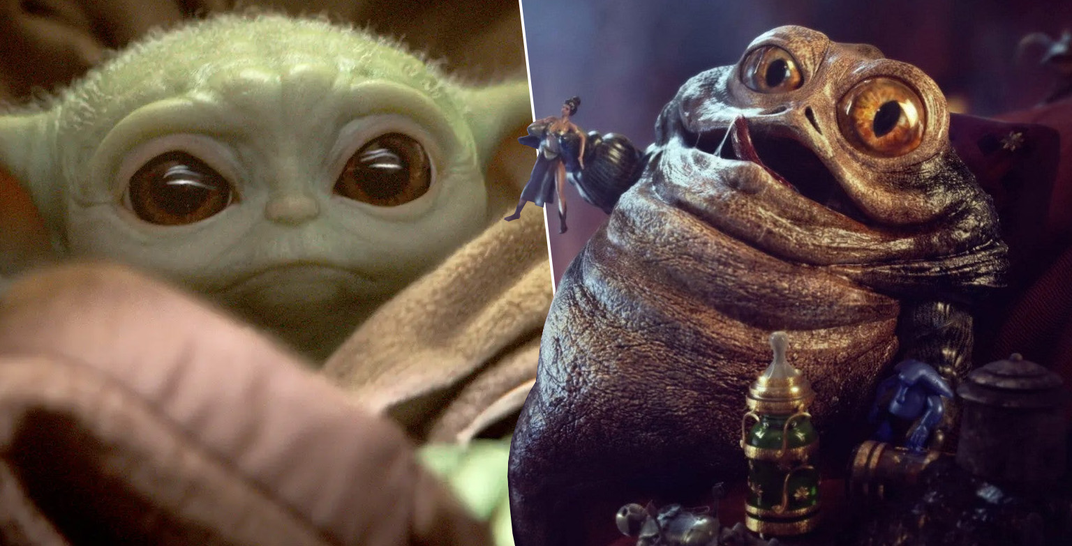 An Artist Has Designed Baby Jabba And He's A Lot Creepier Than Yoda