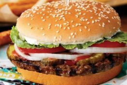 Impossible Whopper from burger king