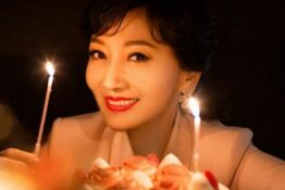 Picture of young-looking actor on her 65th birthday