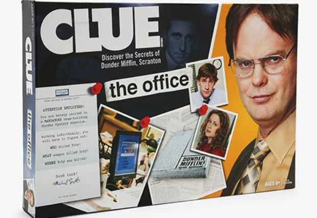 Clue The Office Toby Flenderson