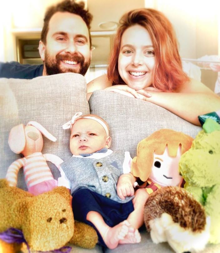 couple give baby blended name