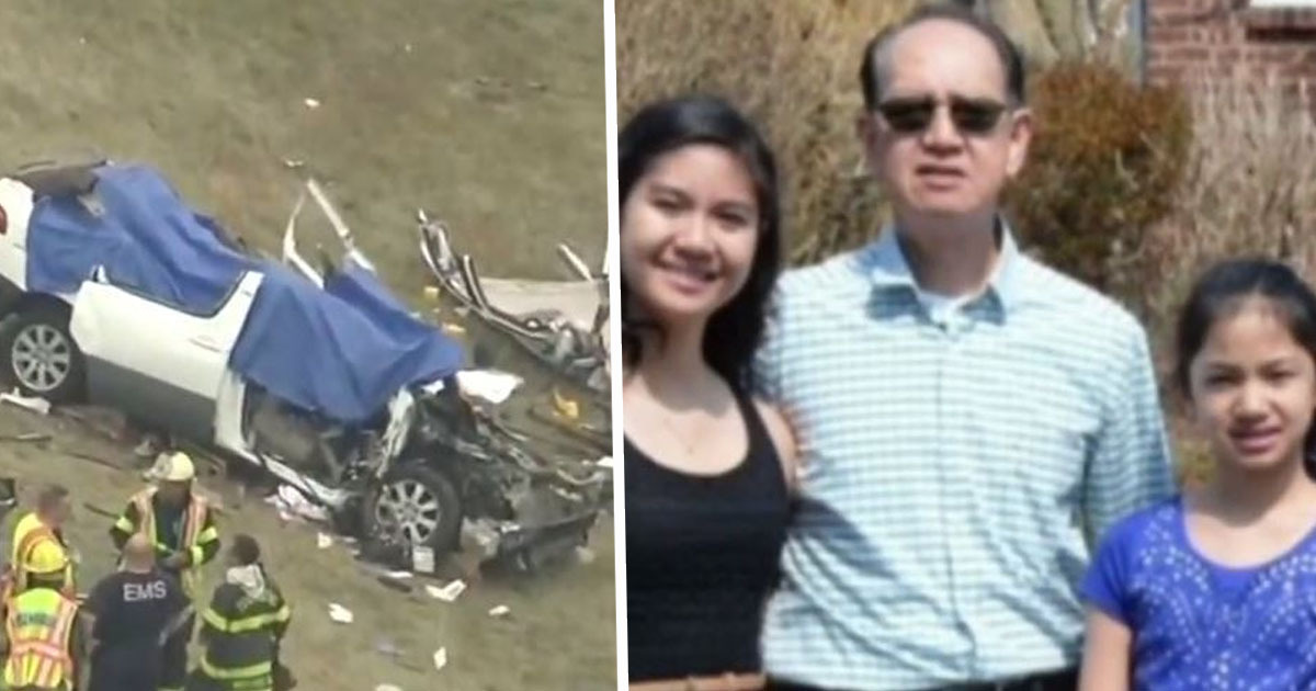 Driver gets no jail time despite causing crash which killed dad and four daughters