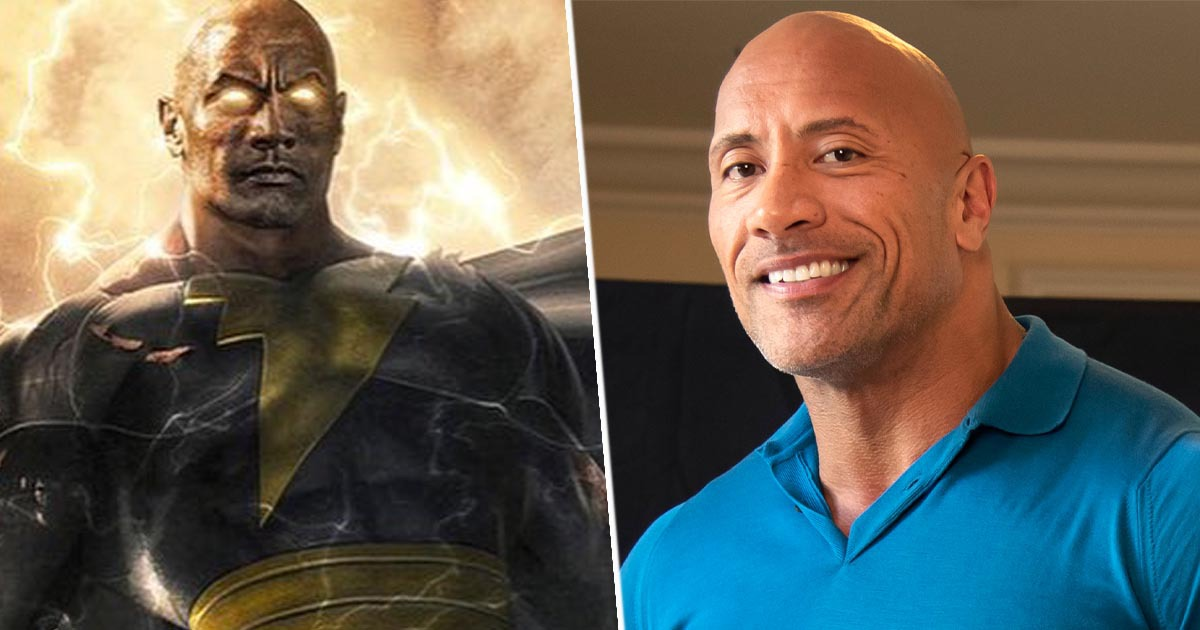 dwayne the rock johnson as black adam 1