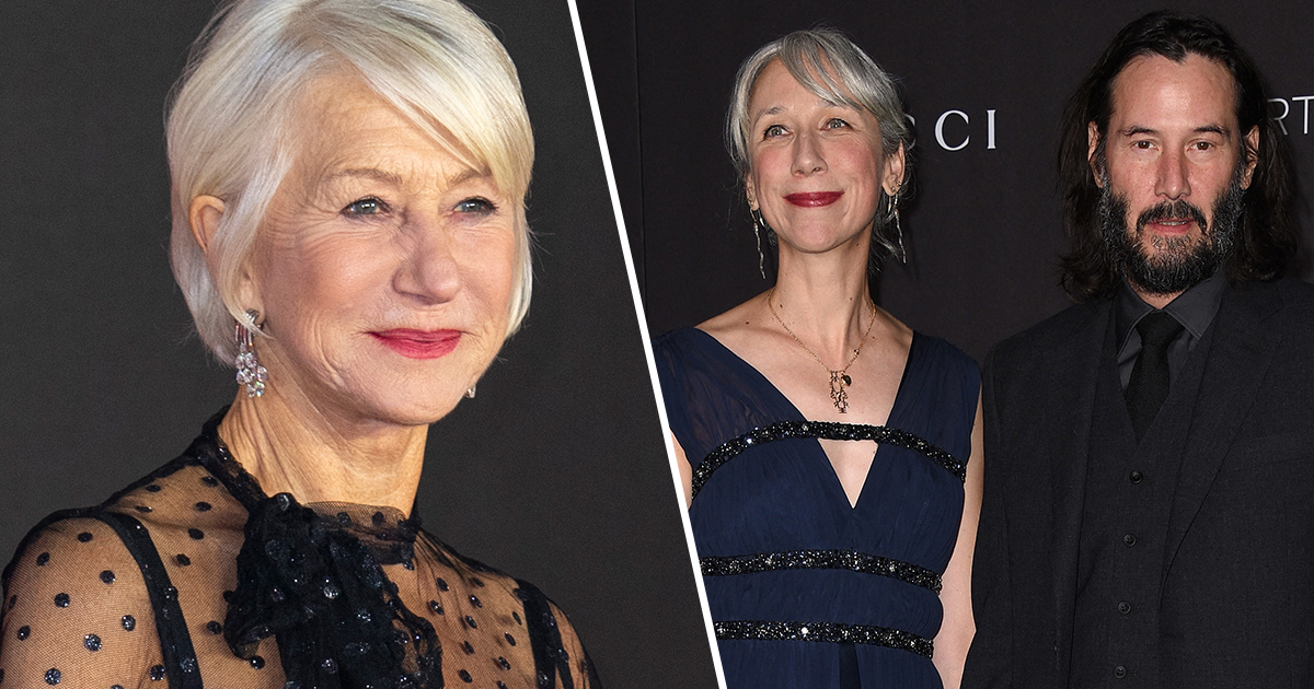 Helen Mirren Responds To People Thinking She's Keanu Reeves' Girlfriend