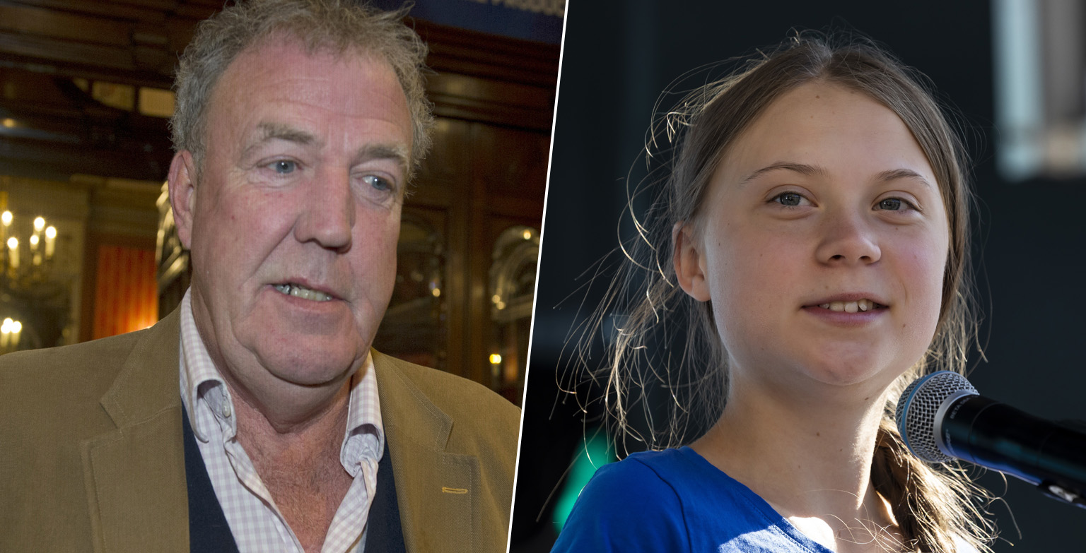 Jeremy Clarkson Calls Greta Thunberg An Idiot For 'Killing The Car Show'