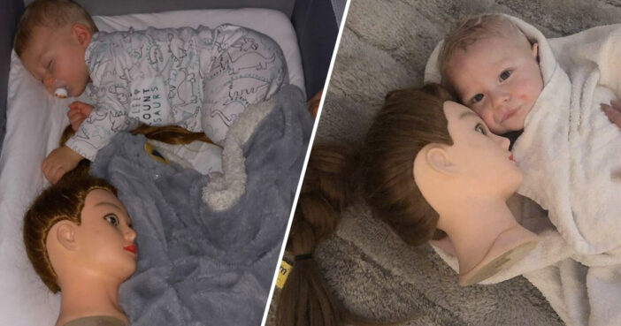Mum's Sleep Trick Backfires When Baby Son Becomes Obsessed With Severed Mannequin Head