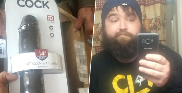 Dad Opens Neighbour's Parcel To Find 14-Inch Sex Toy