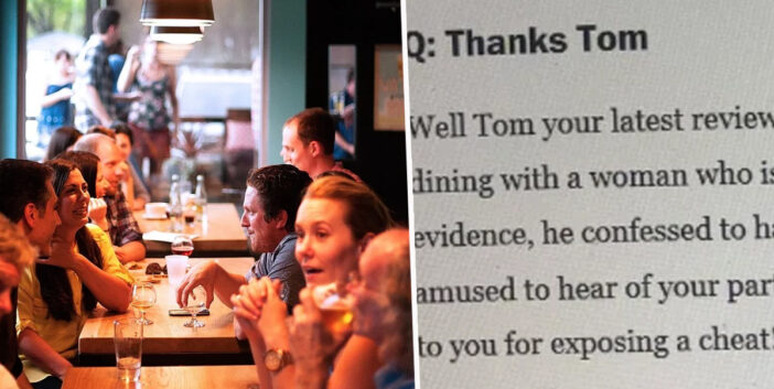 Woman Discovers Husband's Affair From A Food Critic's Review