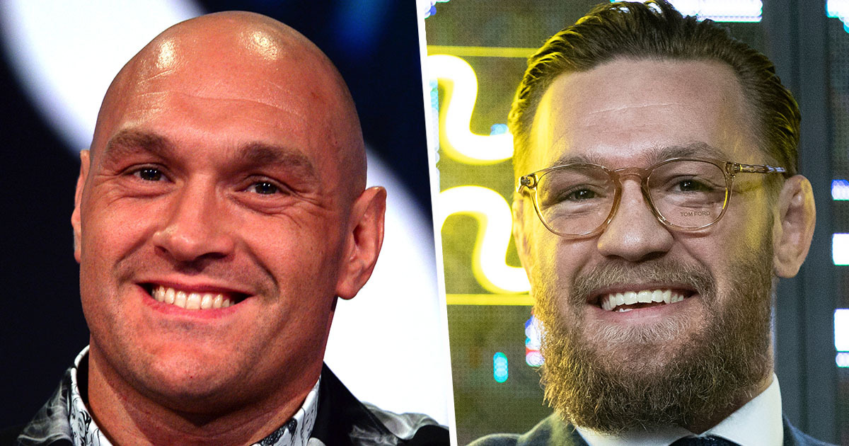 Tyson Fury 'Ready' To Enter UFC After Talks With Conor McGregor