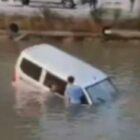 Learner Driver Plunges 20ft Into River After Getting Pedals Mixed Up
