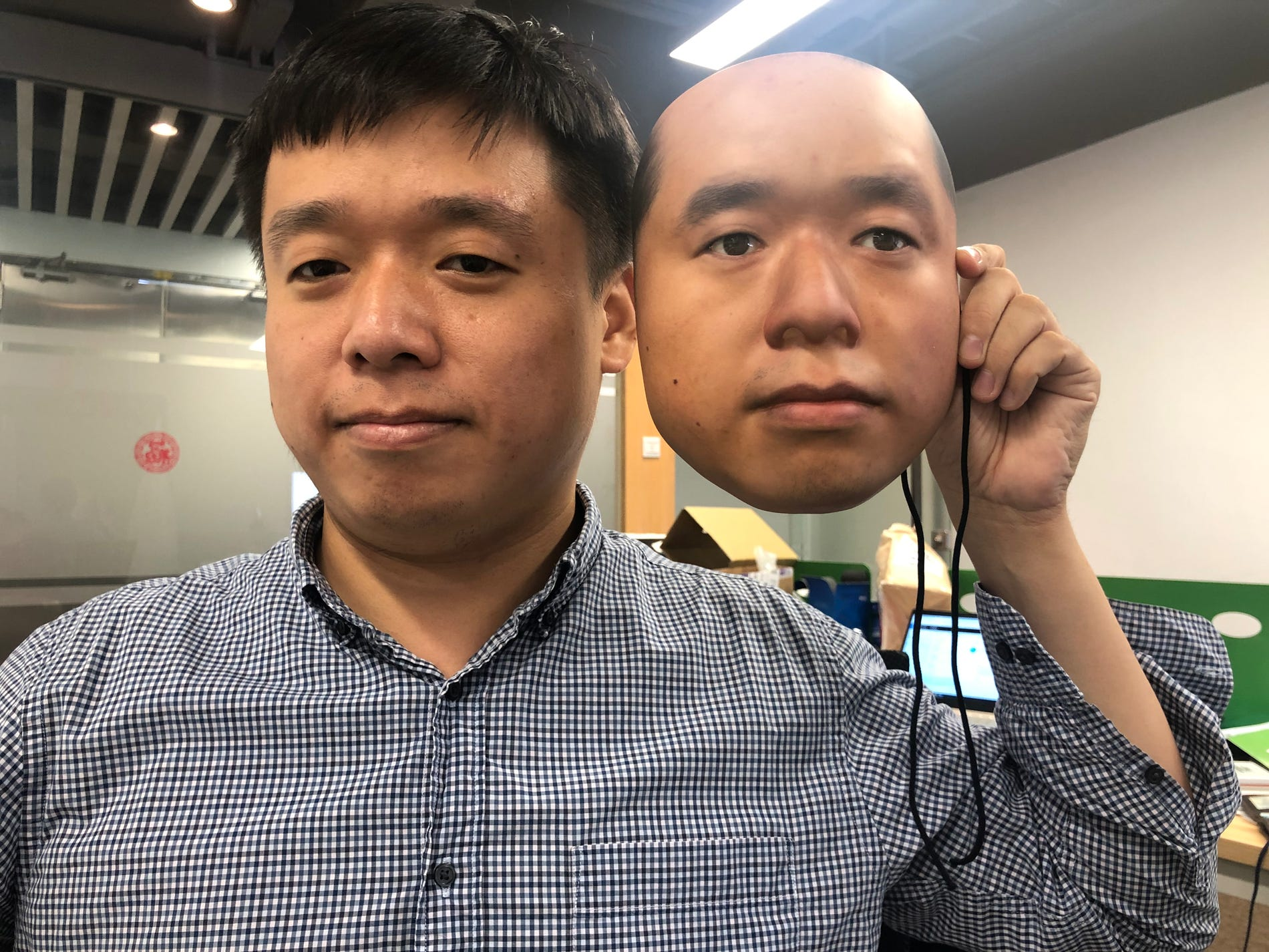 Researchers fool facial recognition software with mask