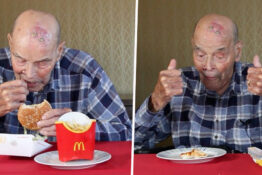 99 Year Old McDonald's For The First Time Thumb