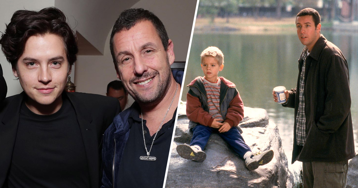 Adam Sandler Reunites With Cole Sprouse 20 Years After Big