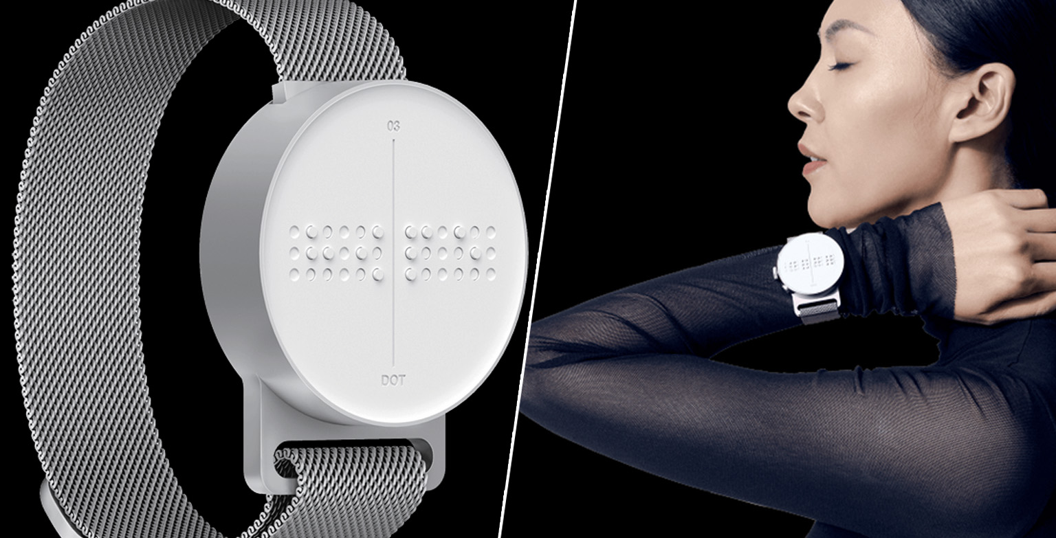 Braille Smartwatch For The Blind Has Been Invented