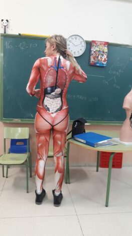 Human anatomy teacher