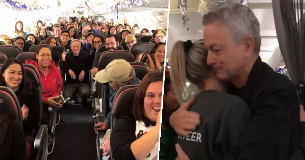 Forrest Gump Star Gary Sinise Takes 1,000 Children Of Fallen Soldiers To Disney World