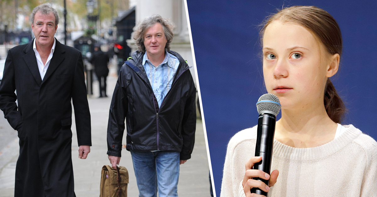 James May Hits Out At Jeremy Clarkson Over Comments About Greta Thunberg