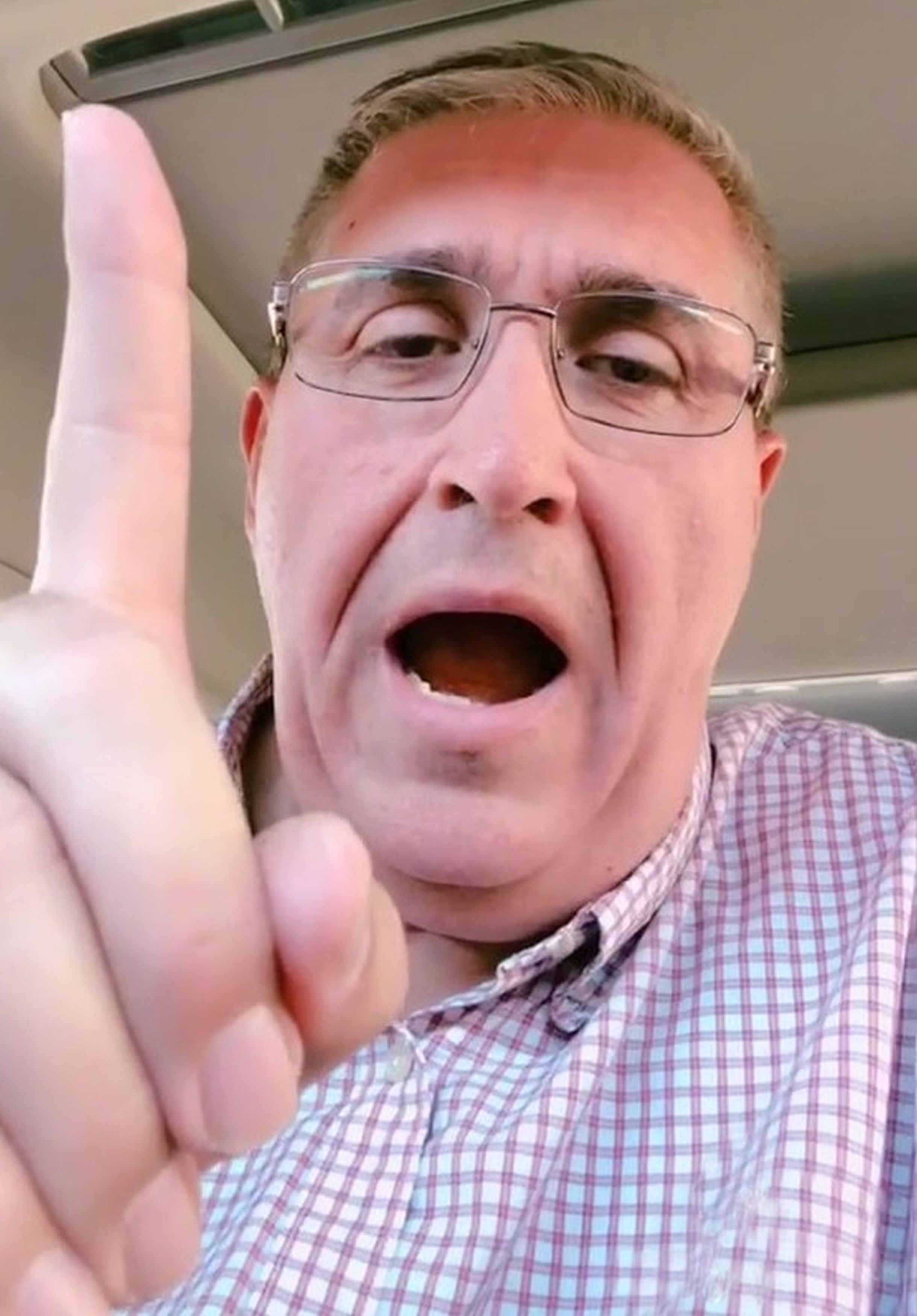 Grandad Of Seven Impersonating Dinosaurs On TikTok Earns Thousands Of Followers