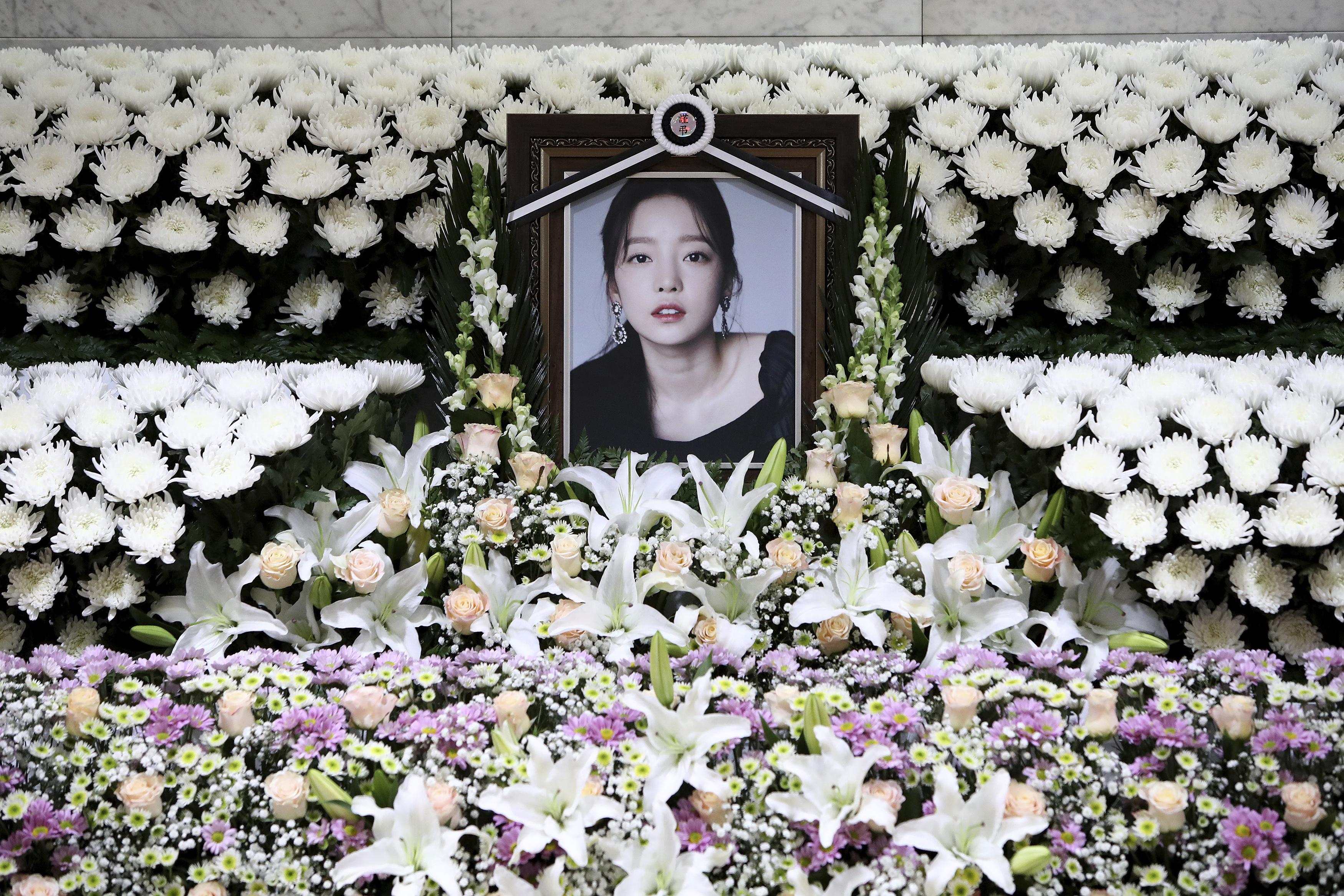 South Korea K-Pop Star Goo Hara Dead