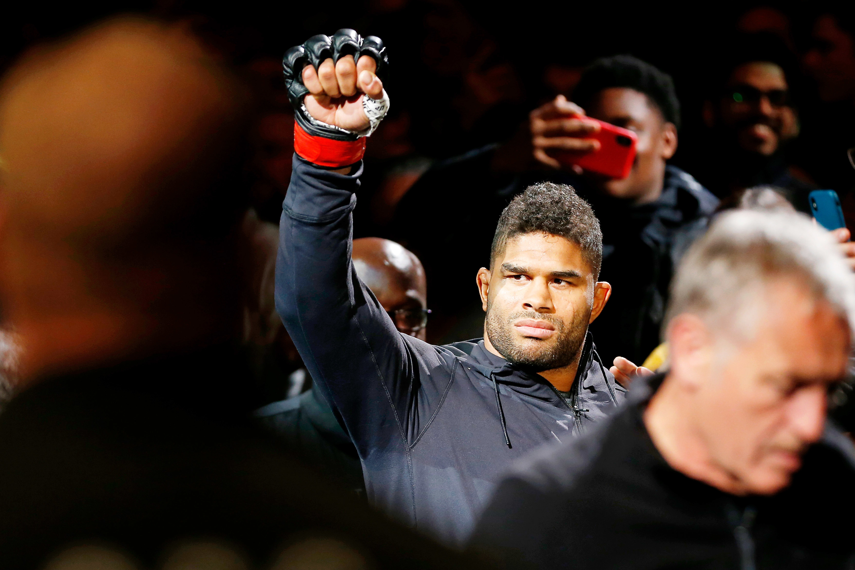 UFC Star Alistair Overeem's Lip Bust Open By Brutal Punch