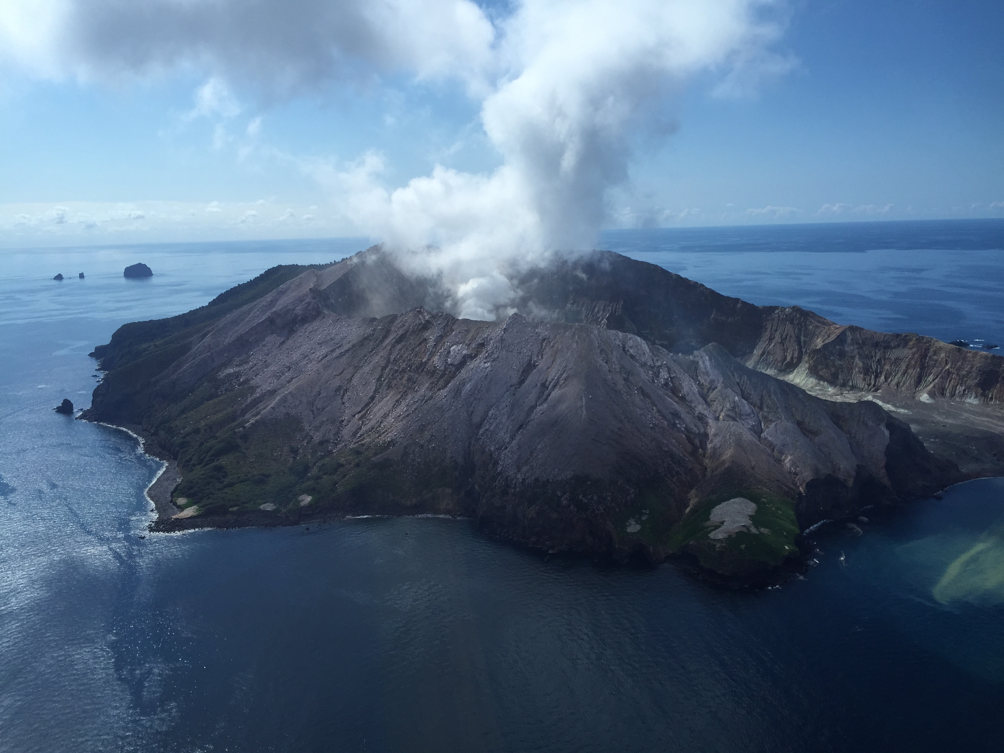 No Survivors On New Zealand Island After Volcano Eruption, Police Say