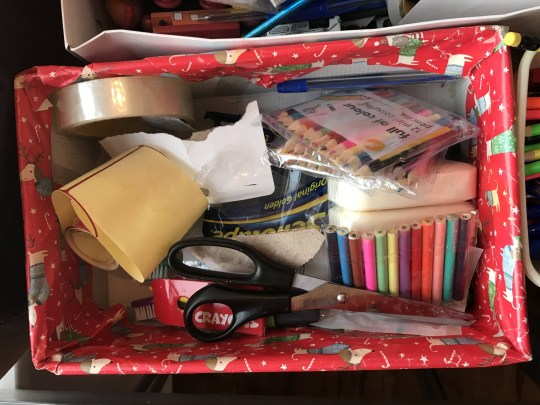 Grandmother makes 500 gift-filled shoeboxes for people in need