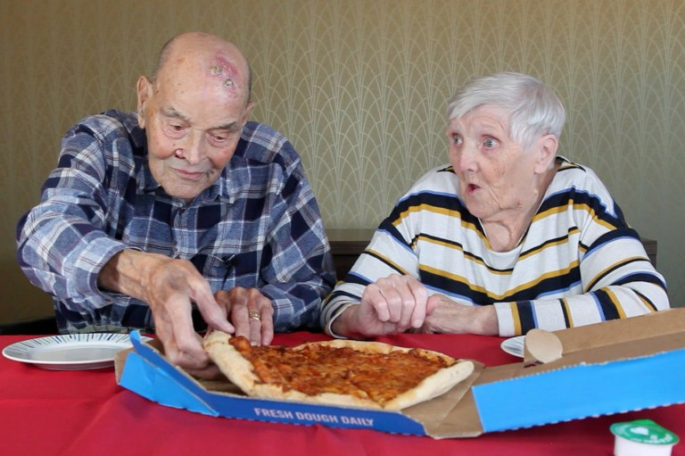 Pensioners Try Fast Food 2