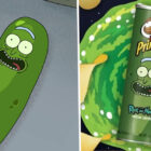 Rick And Morty Team Up With Pringles For New Pickle Rick Flavour