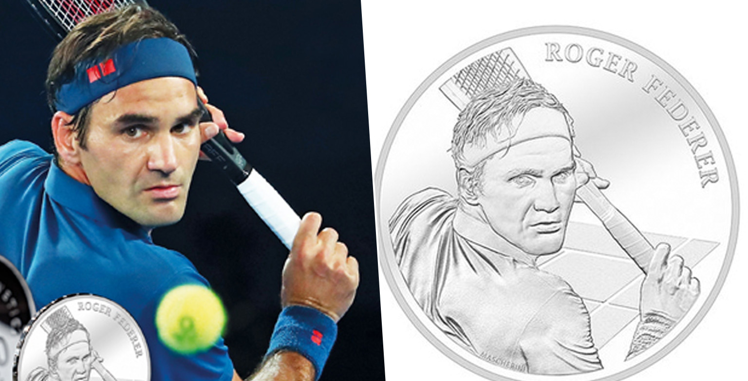 Roger Federer To Become First Living Person On Swiss Coins
