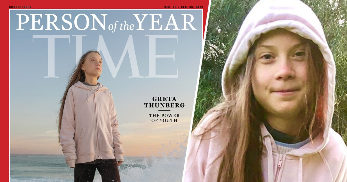 TIME Explains Why Greta Thunberg Is Their Person Of The Year 2019