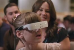 blind girl sees ballet for first time