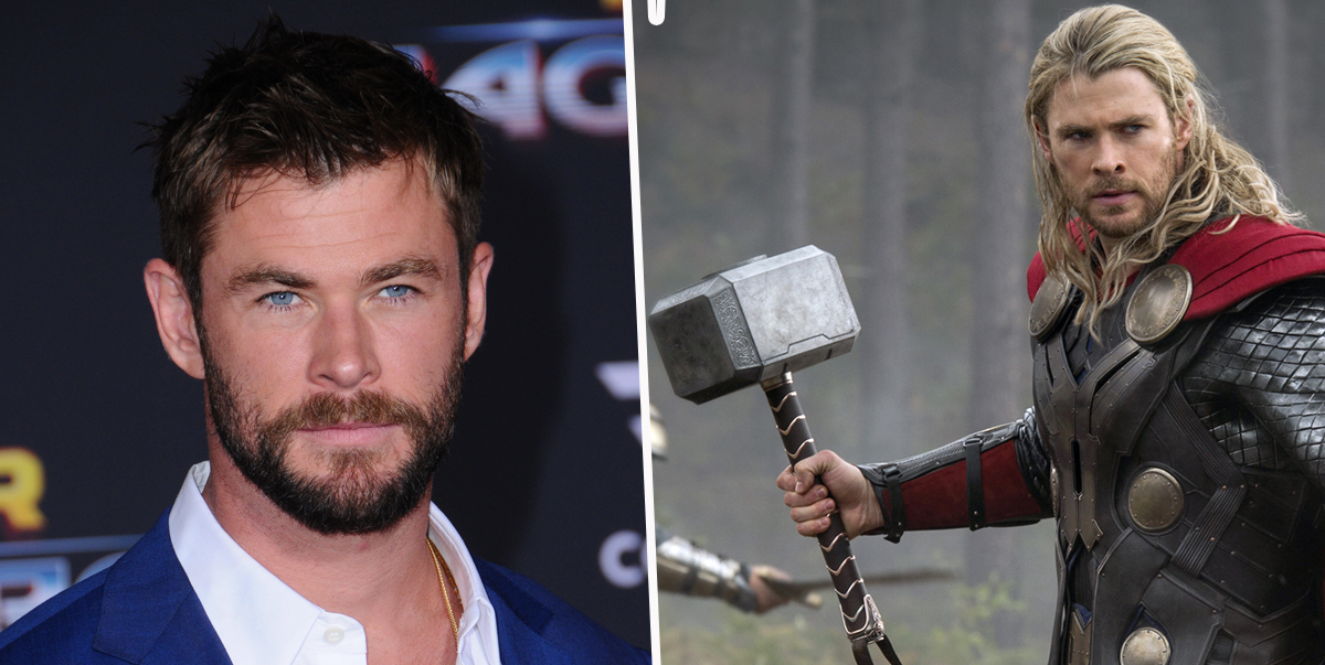 Chris Hemsworth's Wife Says He Stole Five Hammers From Set