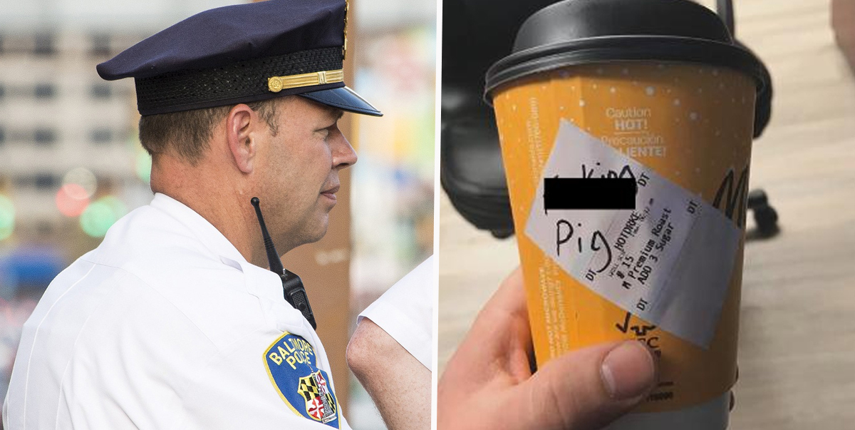 Police Officer Resigns After McDonald's Prove He Lied Over 'Pig' Cup Scandal
