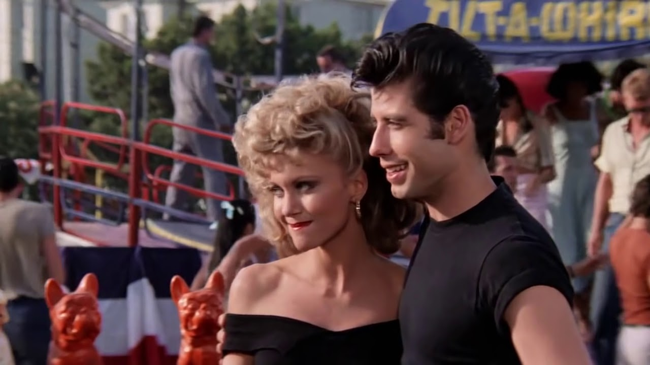 danny and sandy grease