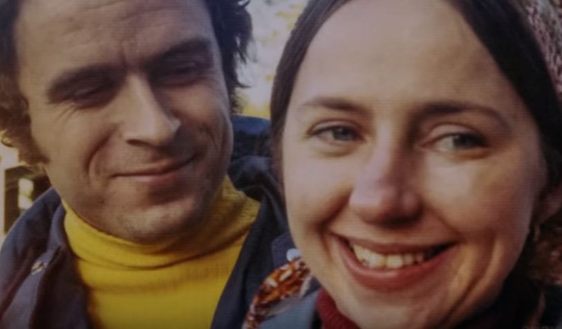 Ted Bundy with girlfriend