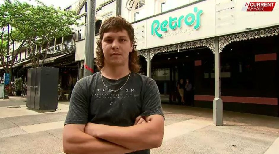 man refused entry to bar mullet