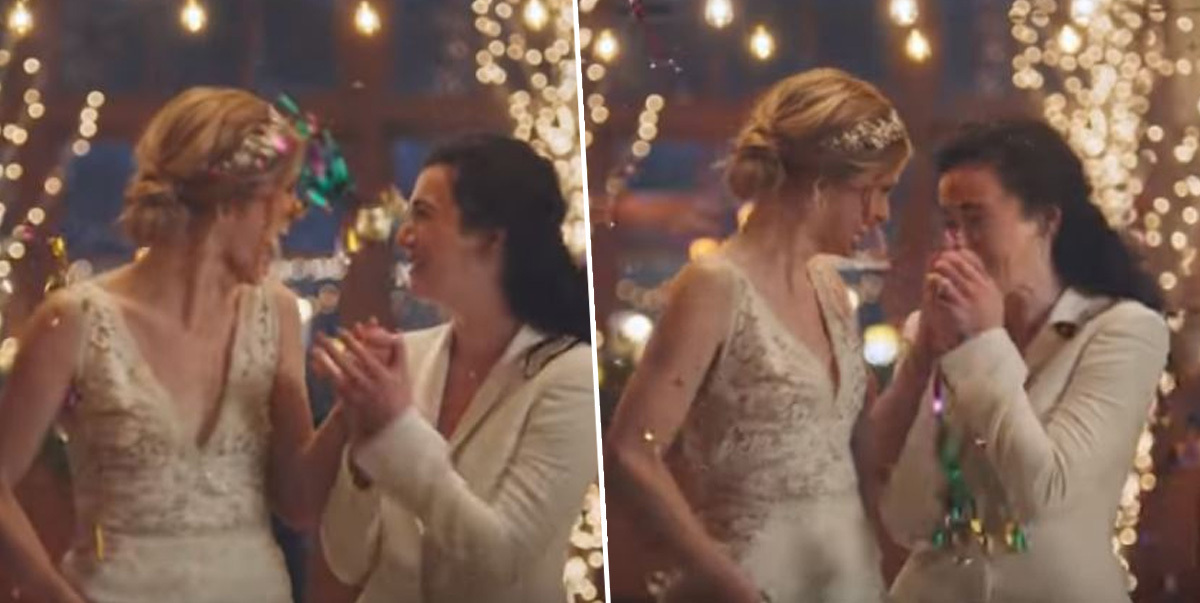 People Are Boycotting Hallmark For Pulling Ad Featuring Gay Wedding